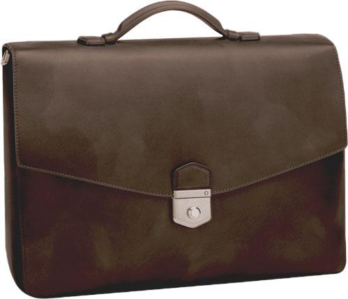 Montblanc Meisterstuck Sfumato Briefcase In Brown