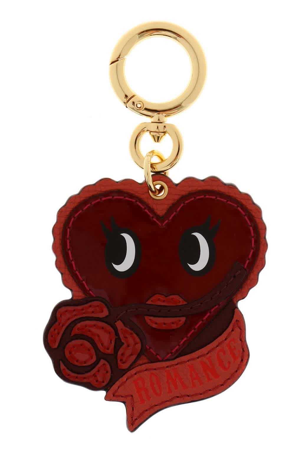 Burberry Red Romance Leather Charm