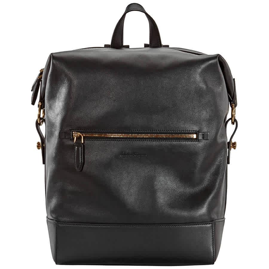 Salvatore Ferragamo Ferragamo Dynamo Backpack Black 24a051-700840