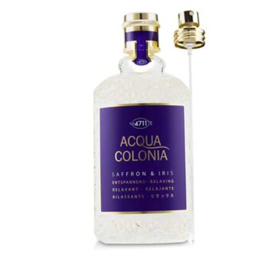 4711 Unisex Acqua Colonia Saffron & Iris Edc Spray 5.7 oz Fragrances 4011700747450 In N,a