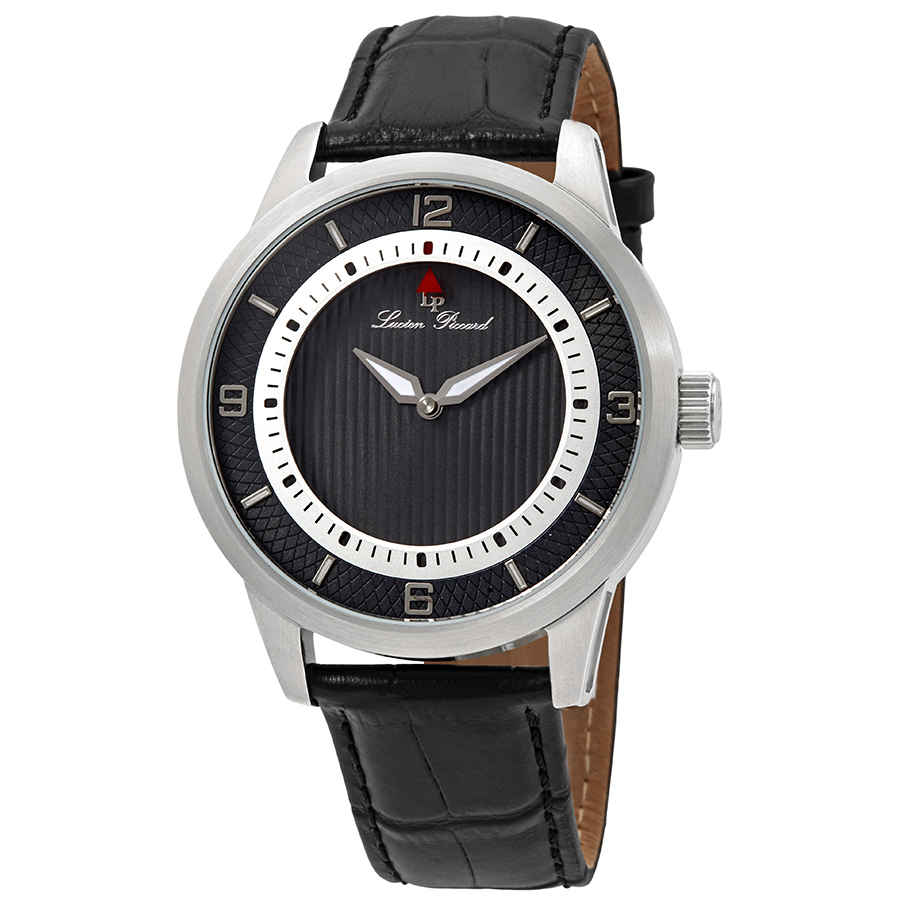 Lucien Piccard Grotto Mens Watch Lp-15024-014 In Black