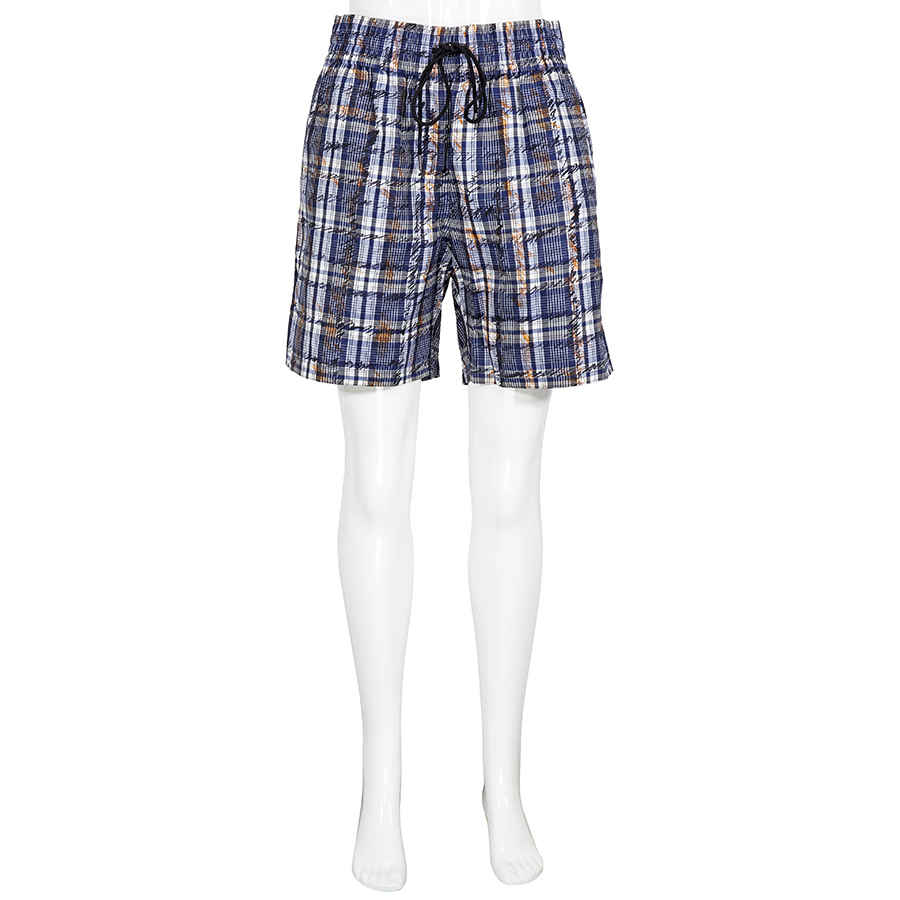 Burberry Ladies Navy In Blue,white