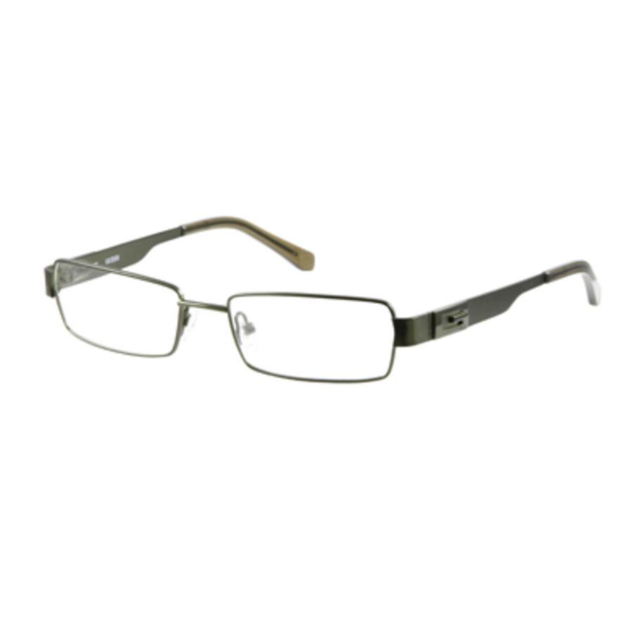 Guess Unisex Green Round Eyeglass Frames Gu1677q4952