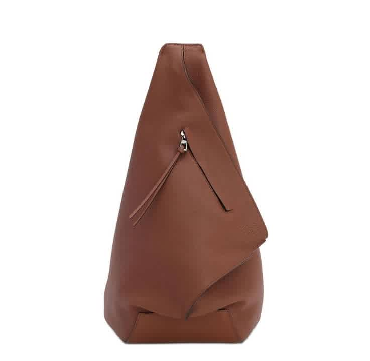 LOEWE SMALL BROWN ANTON BACKPACK