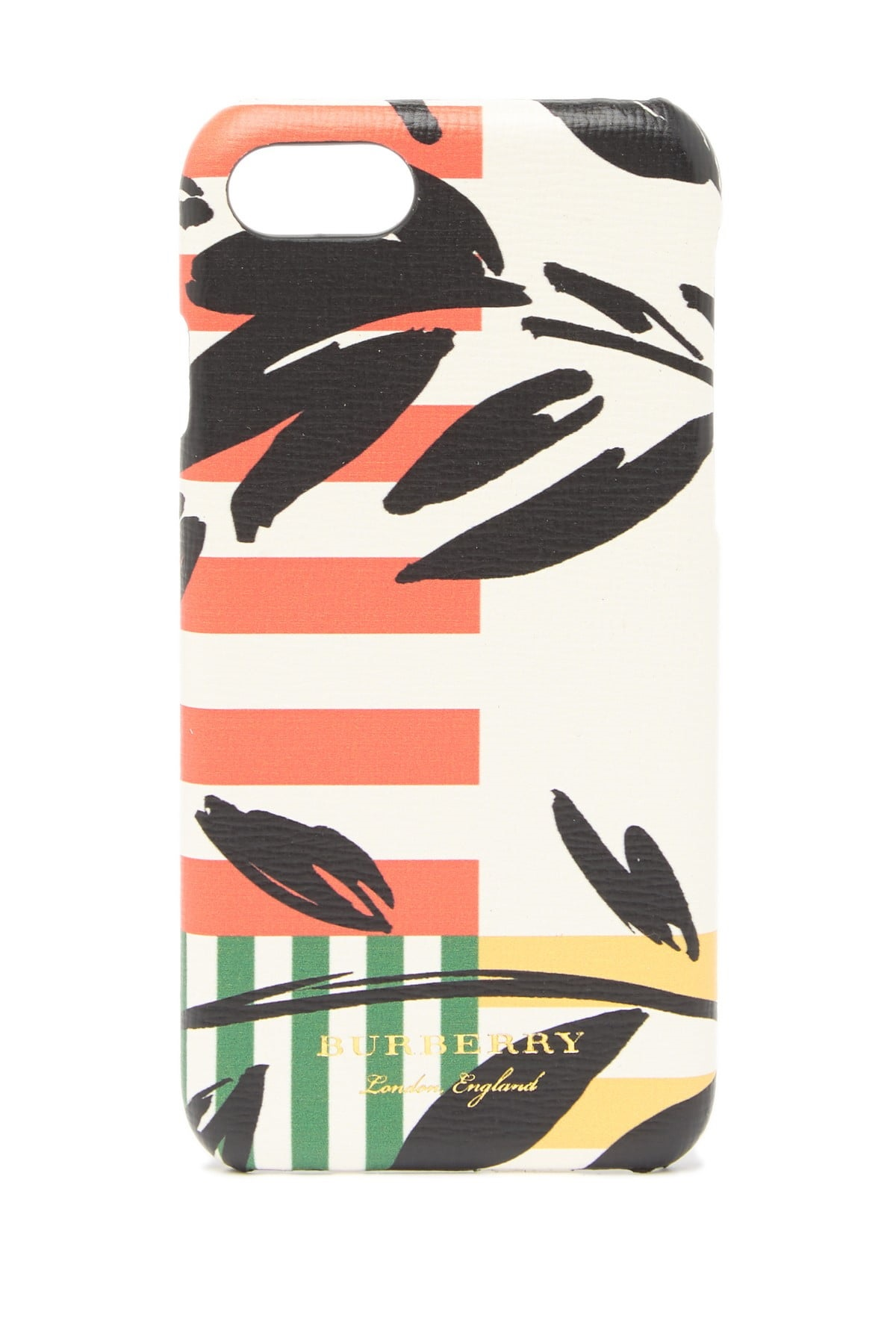 Burberry Patchwork Floral Rufus Iphone 8 Case In N,a