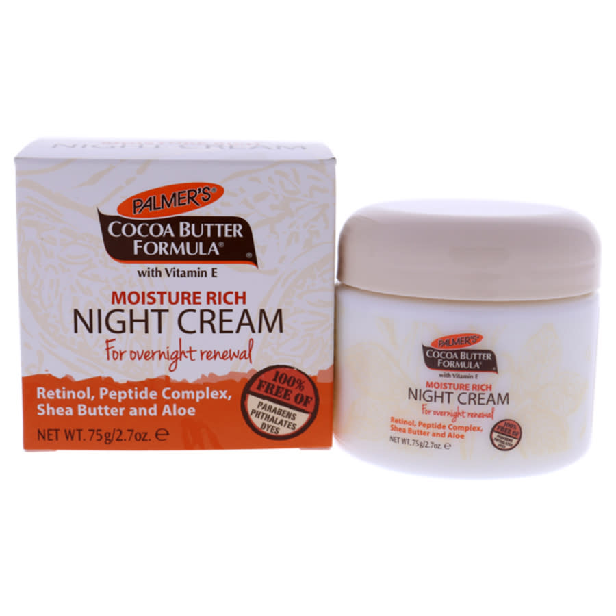 Palmers Cocoa Butter Moisture Rich Night Cream By  For Unisex - 2.7 oz Cream In Beige