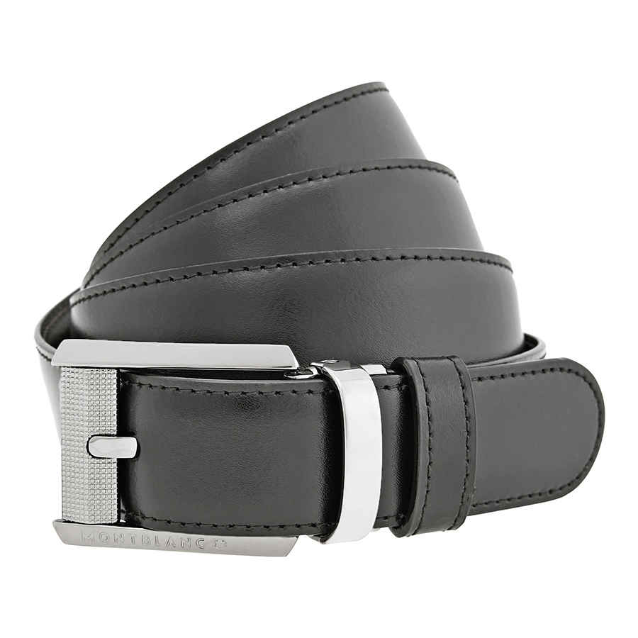 Montblanc Contemporary Line Belt 38163 In Black,brown