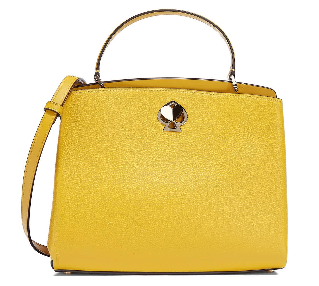 Kate Spade LADIES ROMY MEDIUM SATCHEL IN YELLOW