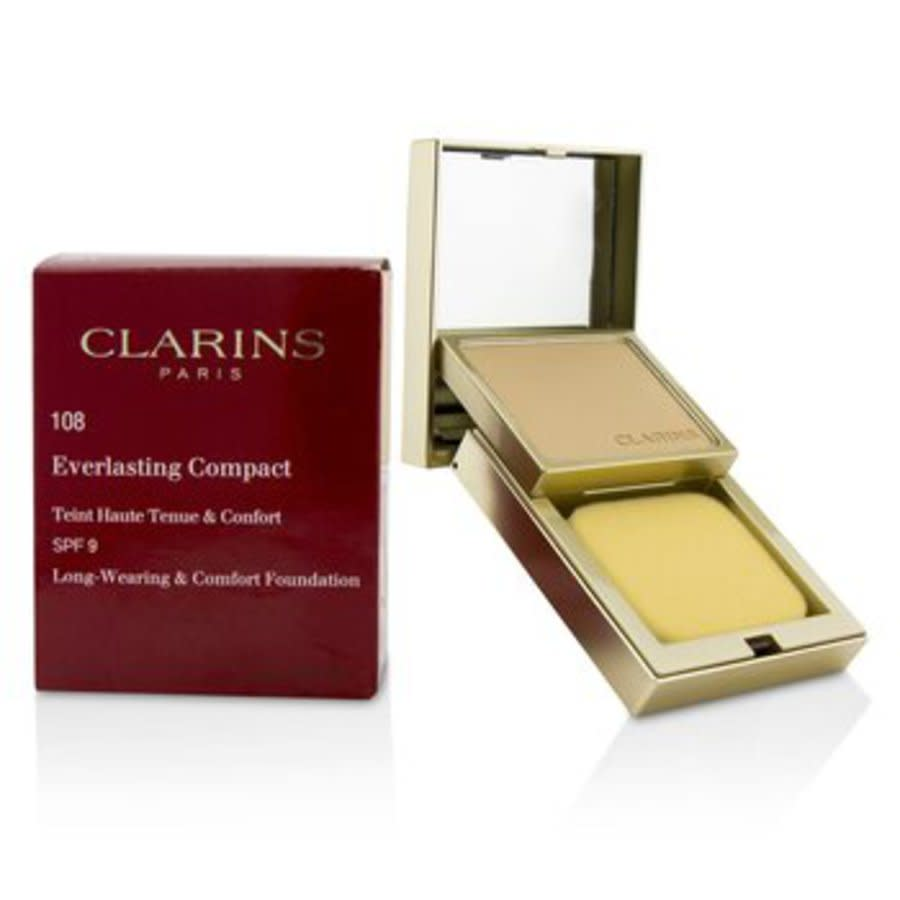 Clarins - Everlasting Compact Foundation Spf 9 - # 108 Sand 10g/0.3oz In N,a