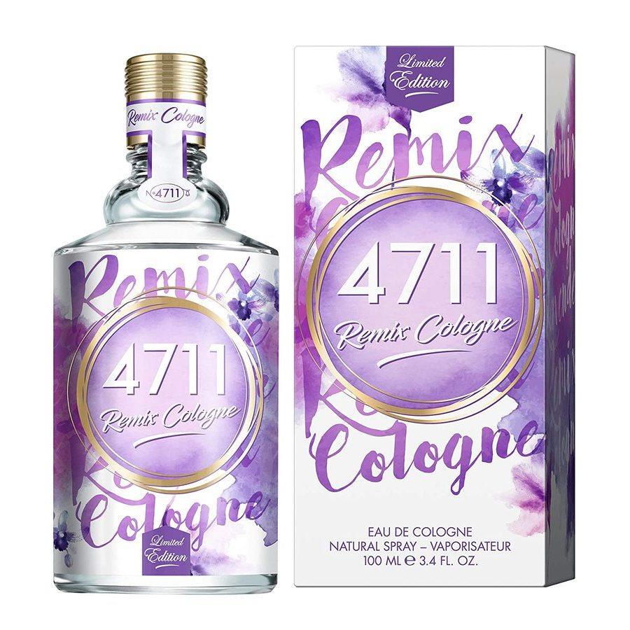 4711 Unisex Remix Lavender Edc Spray 3.4 oz Fragrances 4011700747573 In Purple