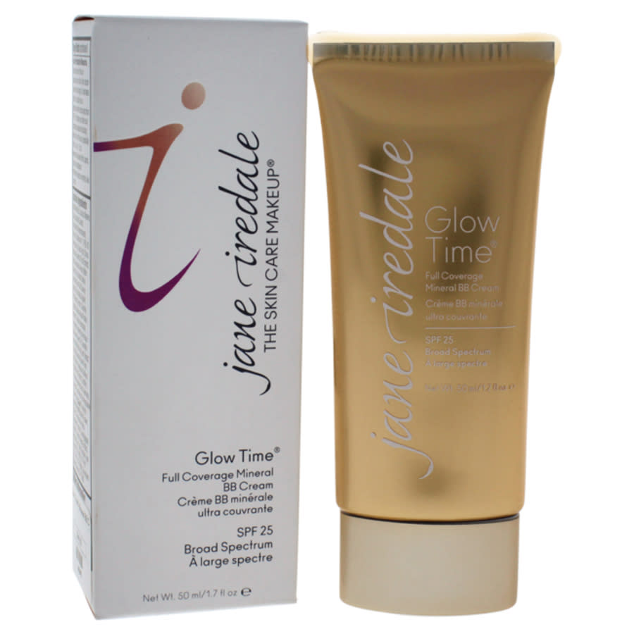 Jane Iredale Glow Time Full Coverage Mineral Bb Cream Spf 25 - Bb8 By  For Women - 1.7 oz Makeup In Neutrals