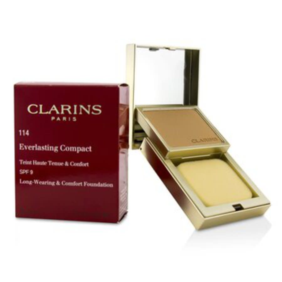 Clarins - Everlasting Compact Foundation Spf 9 - # 114 Cappuccino 10g/0.3oz In N,a