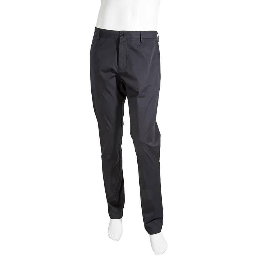 Burberry Mens Ink Slim Leg Chino Pants In N,a
