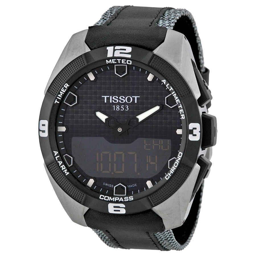 TISSOT T-TOUCH EXPERT SOLAR MENS WATCH T0914204605101