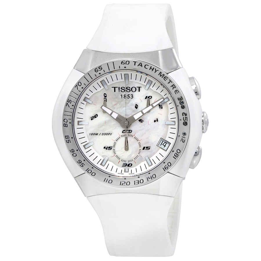 TISSOT MENS T-TRACX CHRONOGRAPH WATCH T010.417.17.111.00
