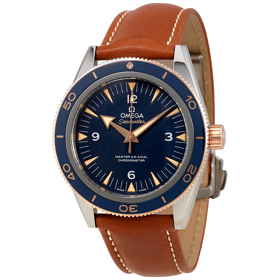 OMEGA PRE-OWNED OMEGA SEAMASTER AUTOMATIC CHRONOMETER BLUE DIAL MENS WATCH 233.62.41.21.03.001