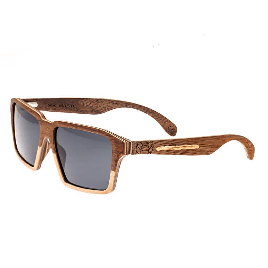 Earth Piha Wood Sunglasses In Black,green