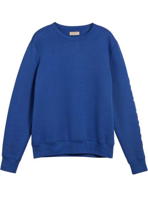 Burberry Blue Kentley Embroidered Sweatshirt