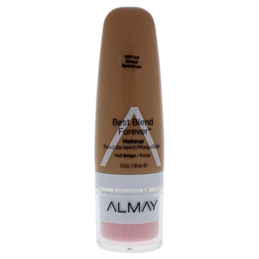 Almay Best Blend Forever Makeup Spf 40 - 140 Beige By  For Women - 1 oz Foundation