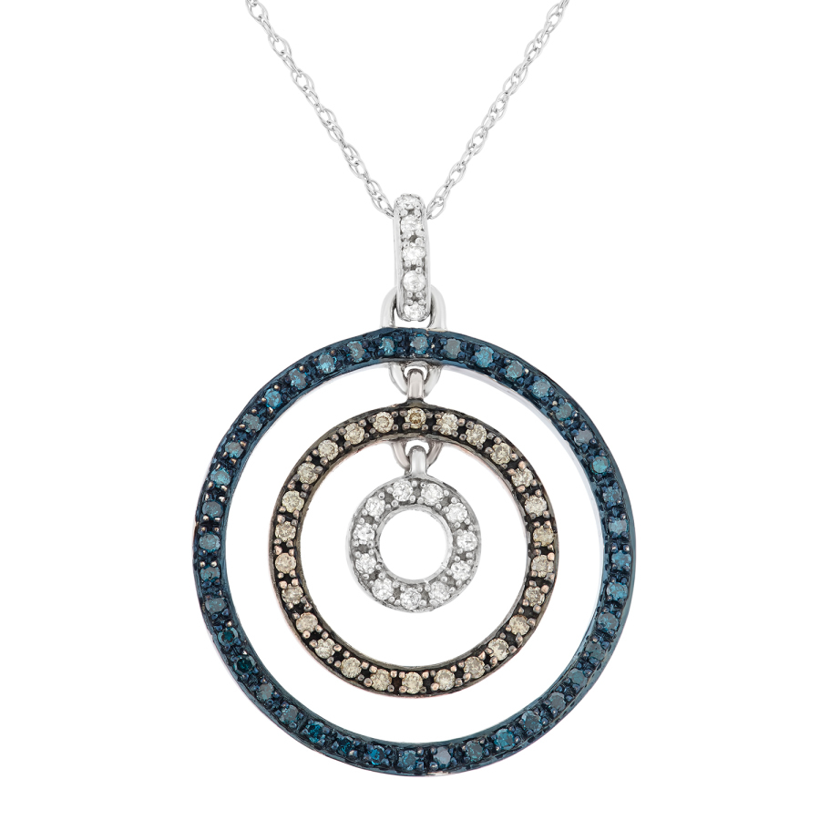 Hetal Diamonds 0.40 Ct Blue