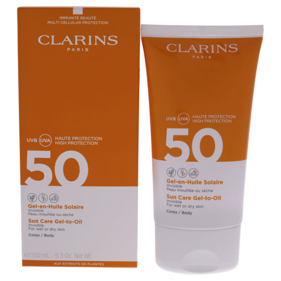 Clarins Sun Care Gel-to-oil Spf 50 By  For Unisex - 5.3 oz Sunscreen In N,a