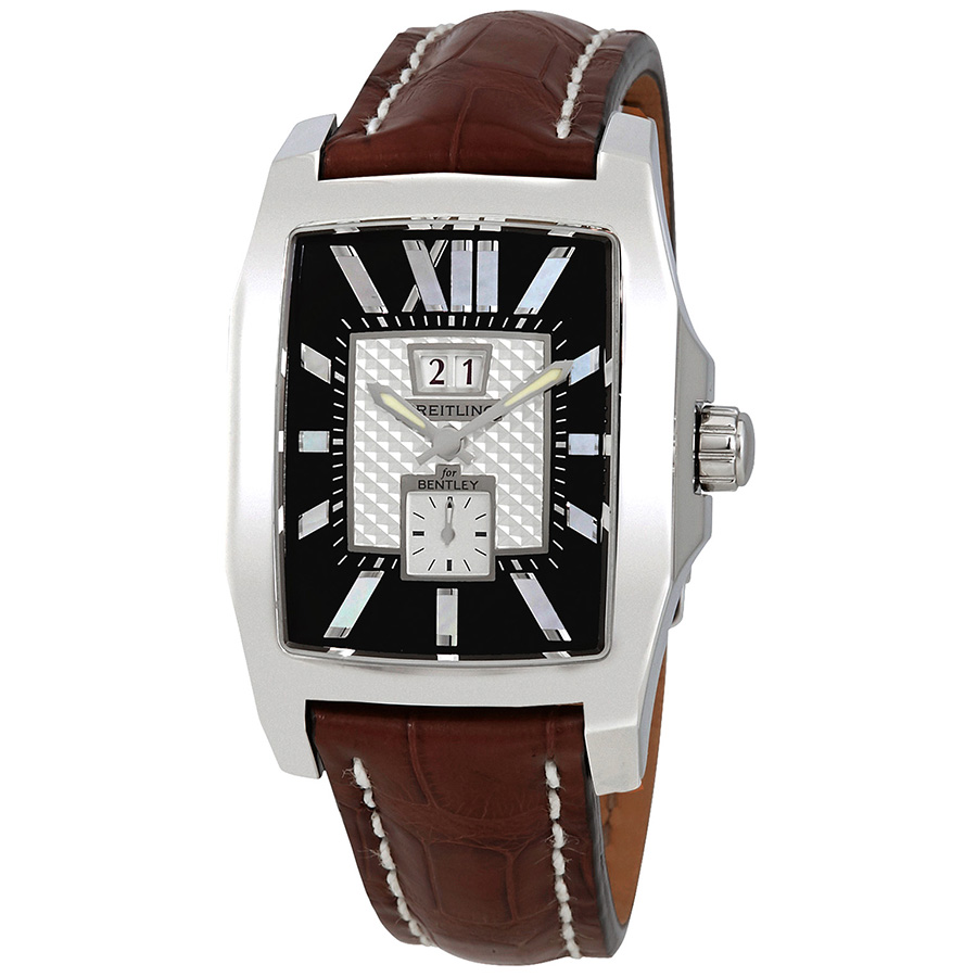 BREITLING PRE-OWNED BREITLING BENTLEY FLYING B NO. 3 AUTOMATIC BLACK DIAL MENS WATCH A1636212-B881BRCD