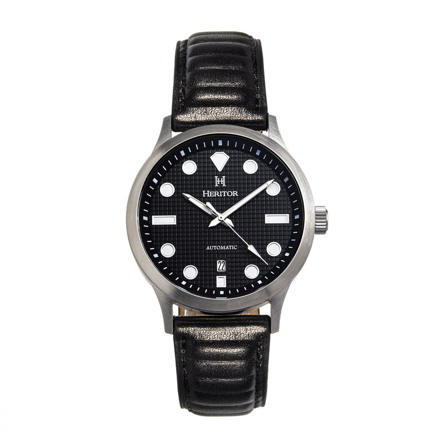 Heritor Bradford Automatic Black Dial Mens Watch Herhs1102