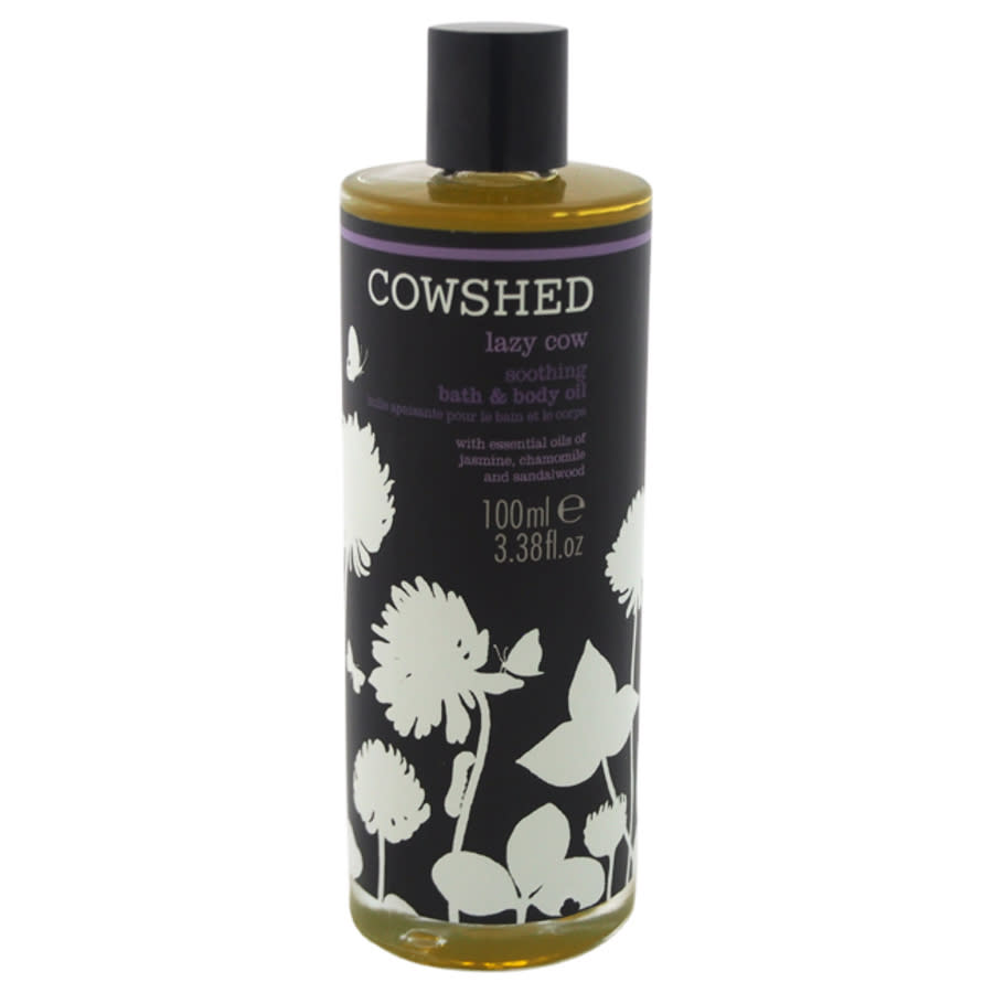 Cowshed Lazy Cow Soothing Bath & Body Oil By  For Women - 3.38 oz Oil In Brown
