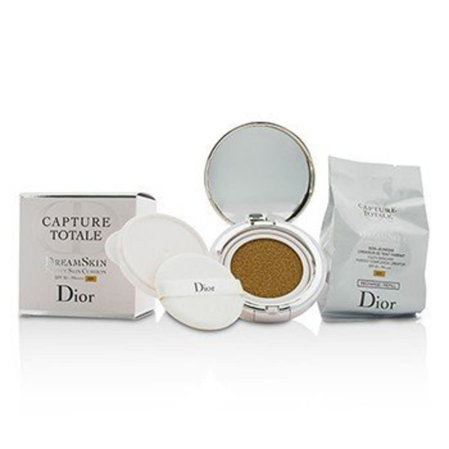 Dior - Capture Totale Dreamskin Perfect Skin Cushion Spf 50 With Extra Refill - # 025 2x15g/0.5oz In Blue