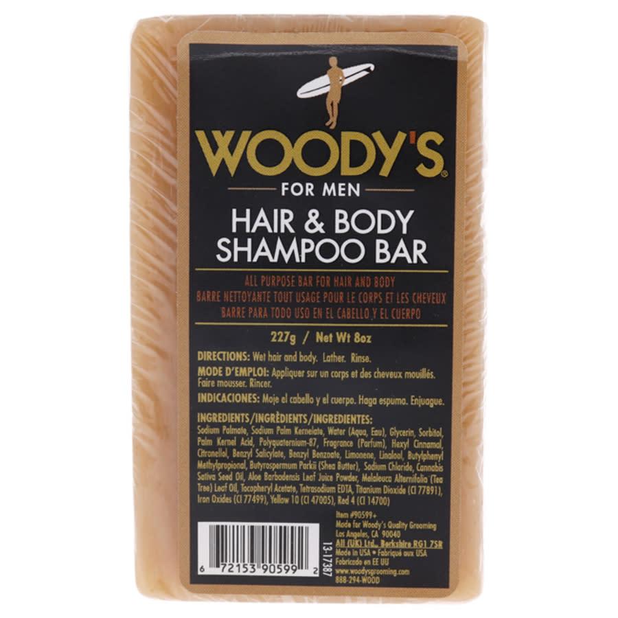 Woodys Hair And Body Shampoo Bar By  For Unisex - 8 oz Shampoo In N,a