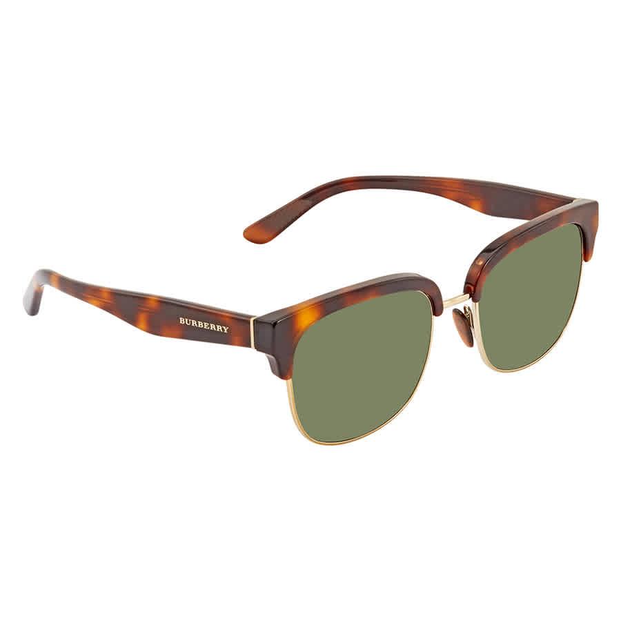 Burberry Green Square Mens Sunglasses Be4272 331671 53