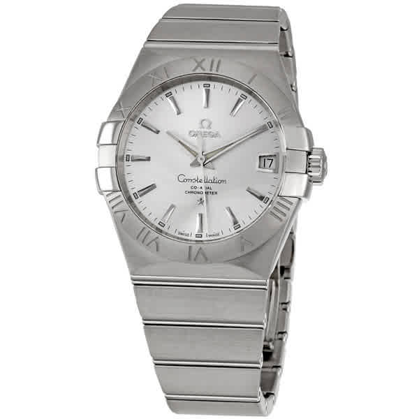 OMEGA CONSTELLATION AUTOMATIC SILVER DIAL MENS WATCH 12310382102001