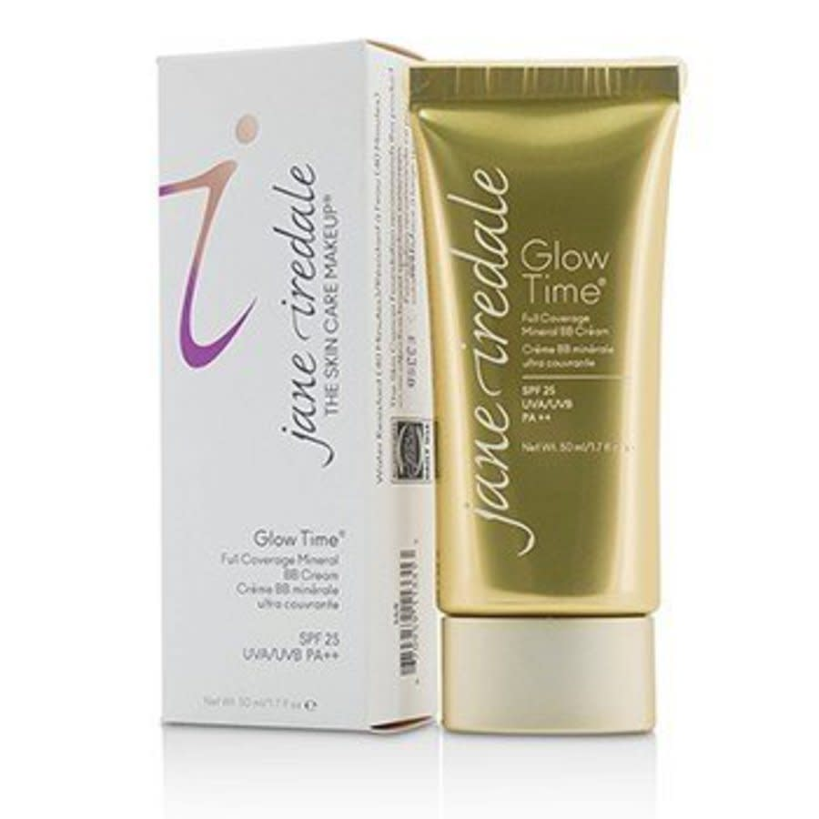 Jane Iredale - Glow Time Full Coverage Mineral Bb Cream Spf 25 - Bb8 50ml/1.7oz In Beige,red