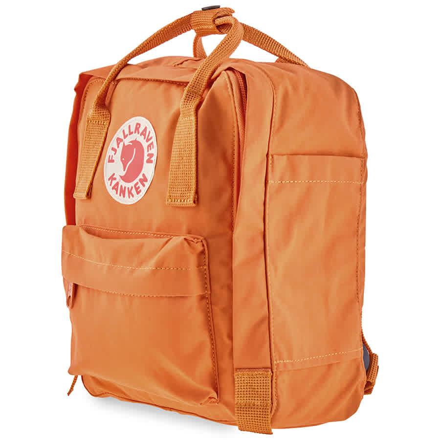 Fjall Raven Backpacks KANKEN MINI BURNT ORANGE BACKPACK 23561-160