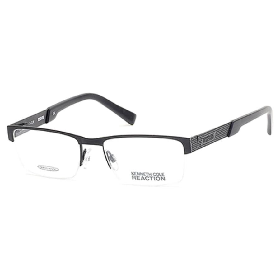 Kenneth Cole Reaction Square Unisex Eyeglasses Kc0783 2 52 In Black