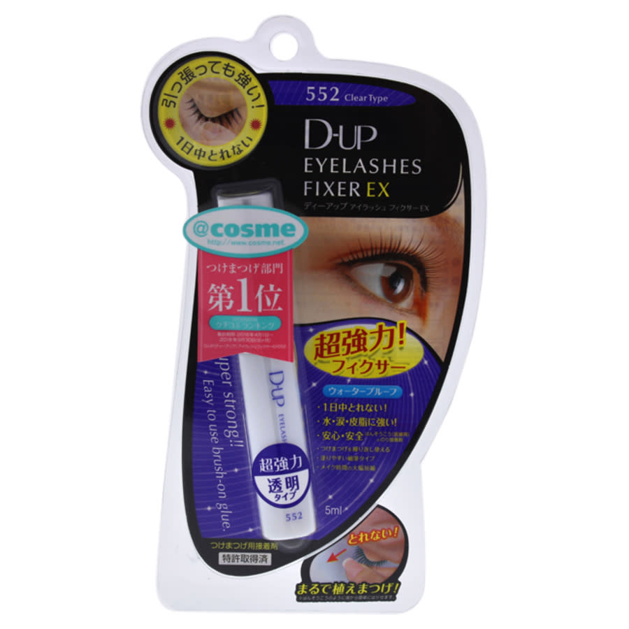 Dup Eyelashes Fixer Ex - 552 Clear By  For Women - 0.17 oz Glue In N,a
