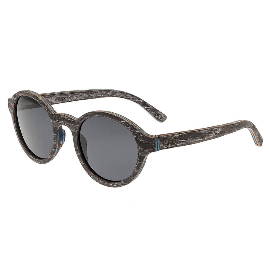 Earth Maho Wood Sunglasses In Black