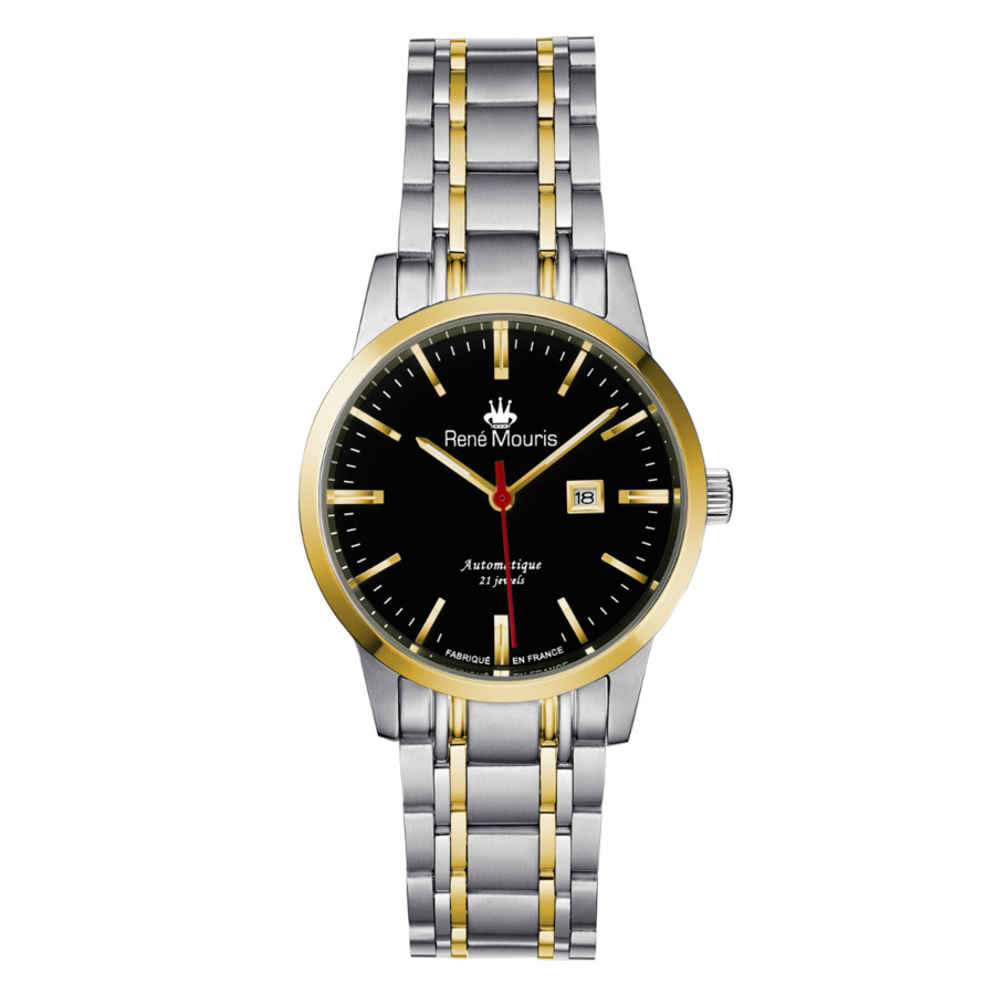 Rene Mouris Noblesse Automatic Black Dial Ladies Watch 10108rm2