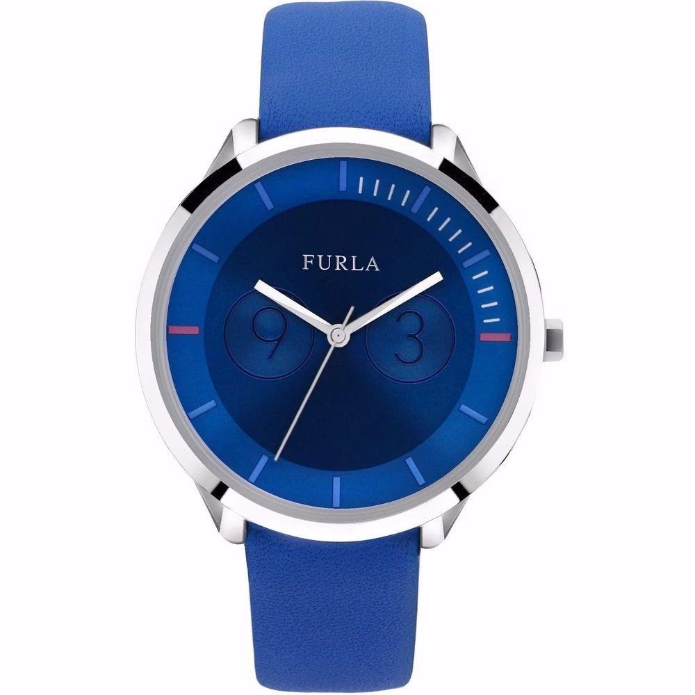Furla Metropolis Blue Dial Ladies Watch R4251102504