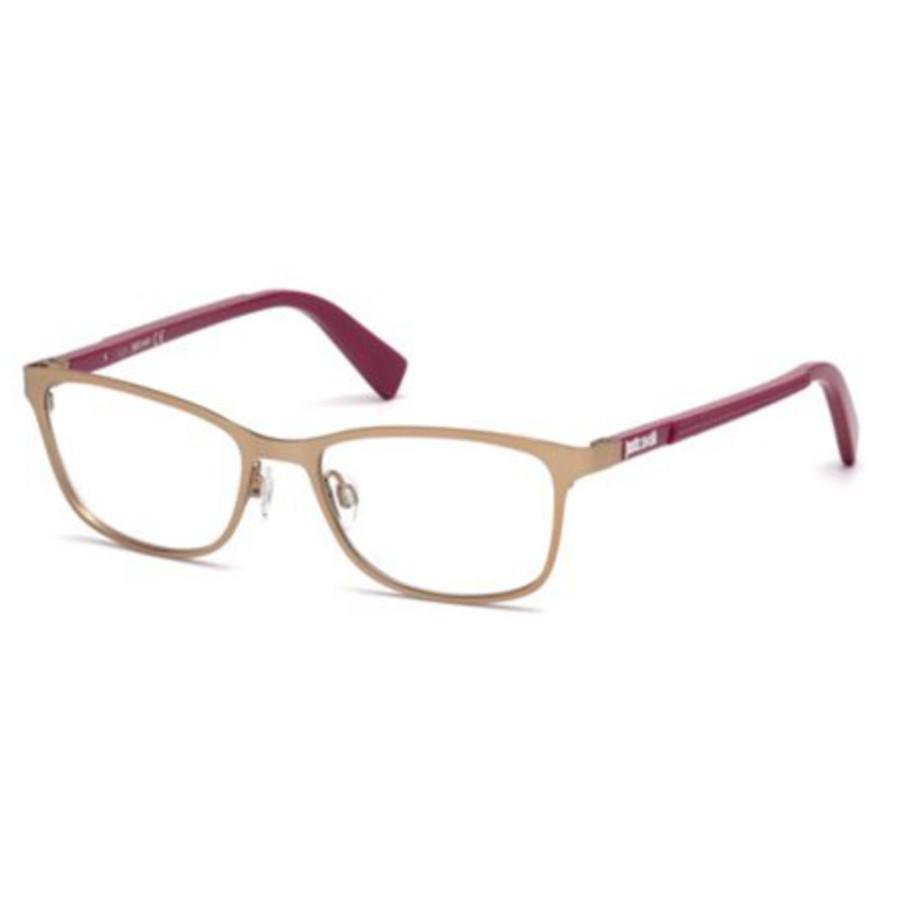 Just Cavalli Ladies Eyeglass Frames Jc0764 068 53 In Gold