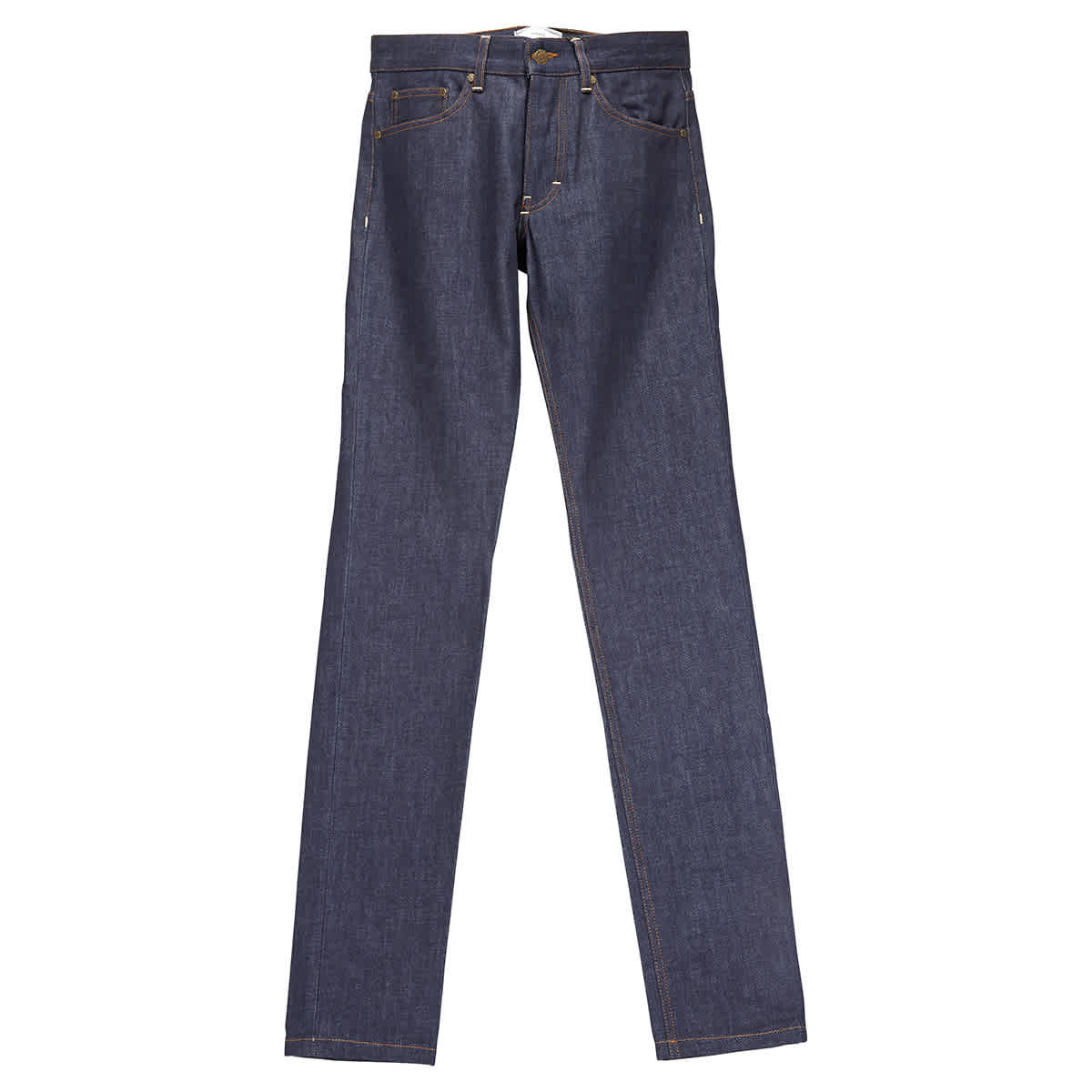Ami Alexandre Mattiussi Mens Denim Straight Fit Jeans In Blue,yellow