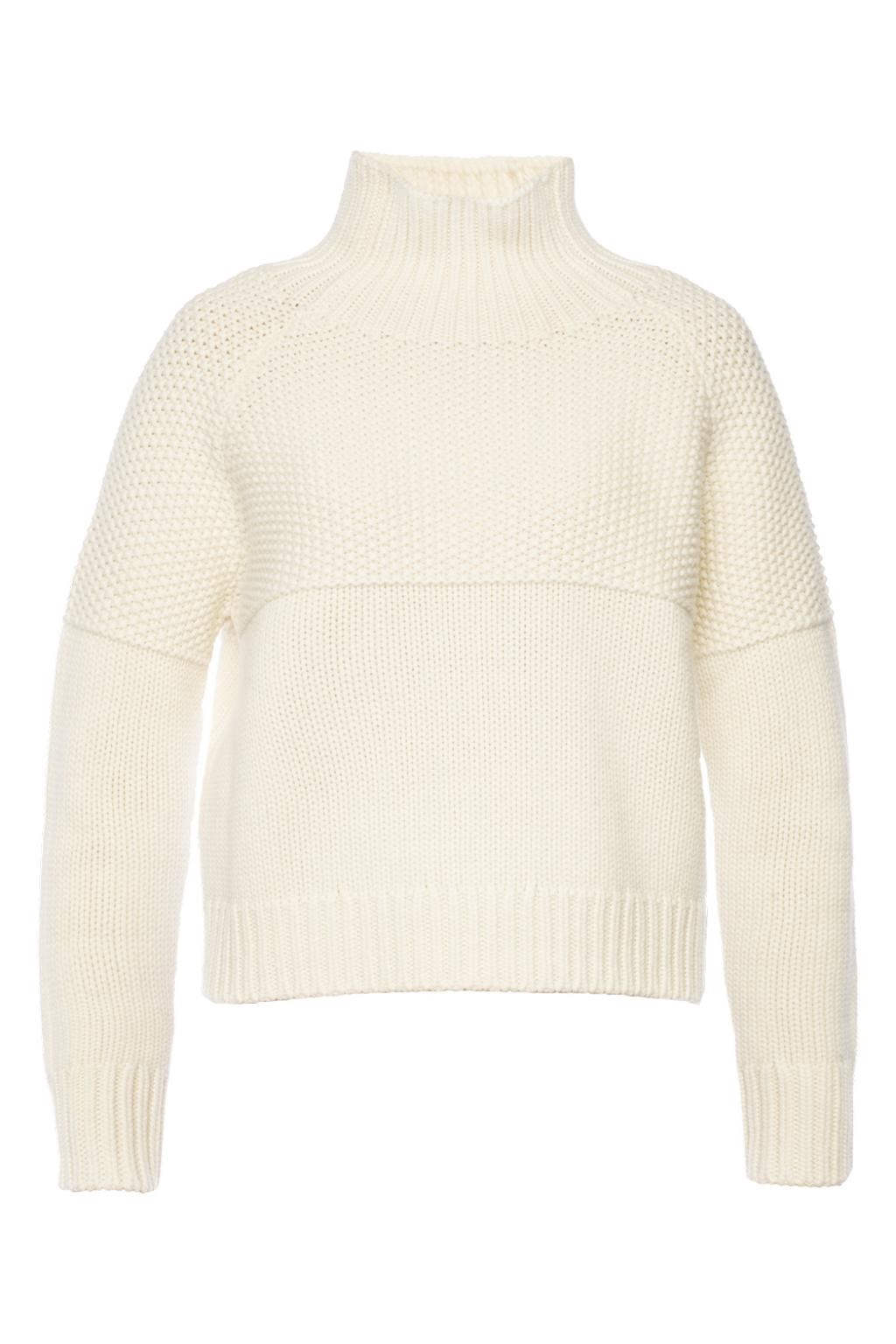 Burberry Dawson Cashmere Jumper In White