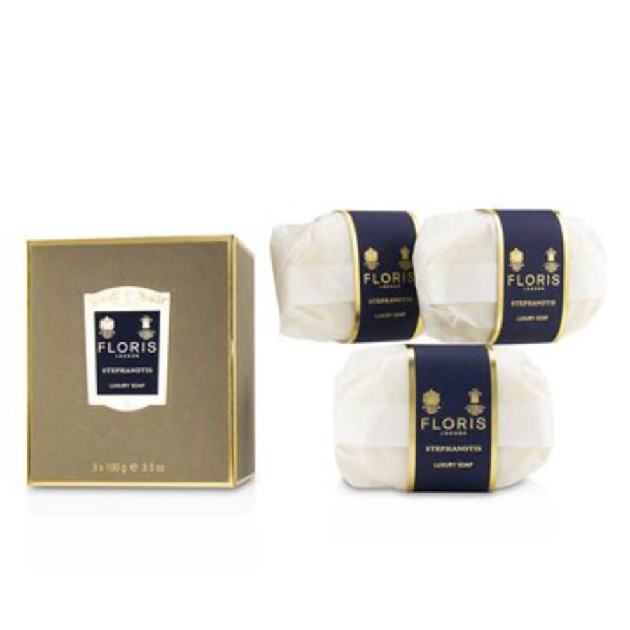 Floris - Stephanotis Luxury Soap 3x100g / 3.5oz In N,a