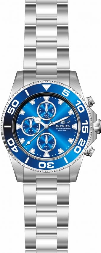 Invicta Pro Diver Chronograph Blue Dial Mens Watch 28690