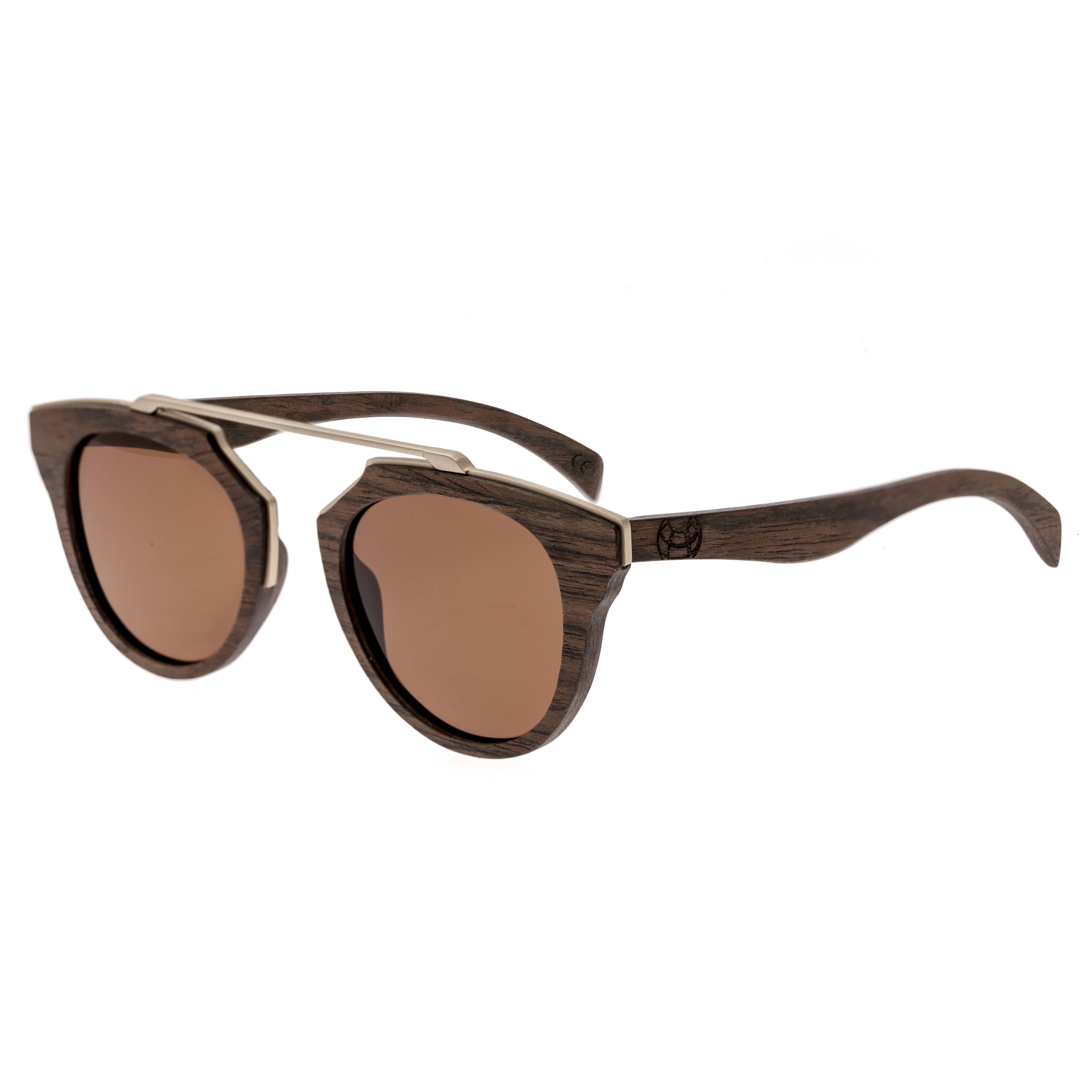Earth Ceira Wood Sunglasses In Brown