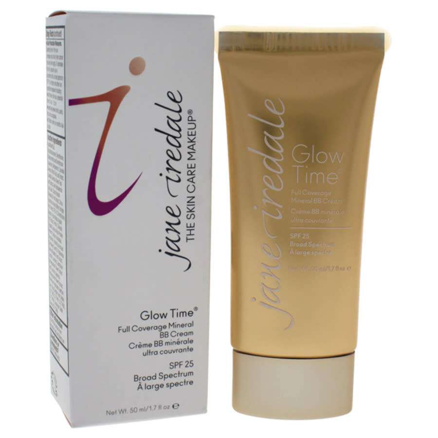 Jane Iredale Ladies Glow Time Full Coverage Mineral Bb Cream Spf 25 Cream 1.7 oz Bb6 Makeup 670959113108 In Neutrals