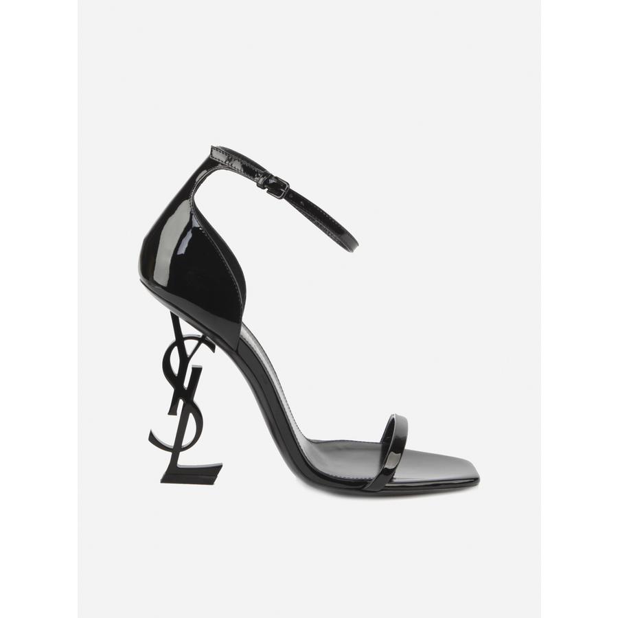 Saint Laurent Ladies Black Sandals