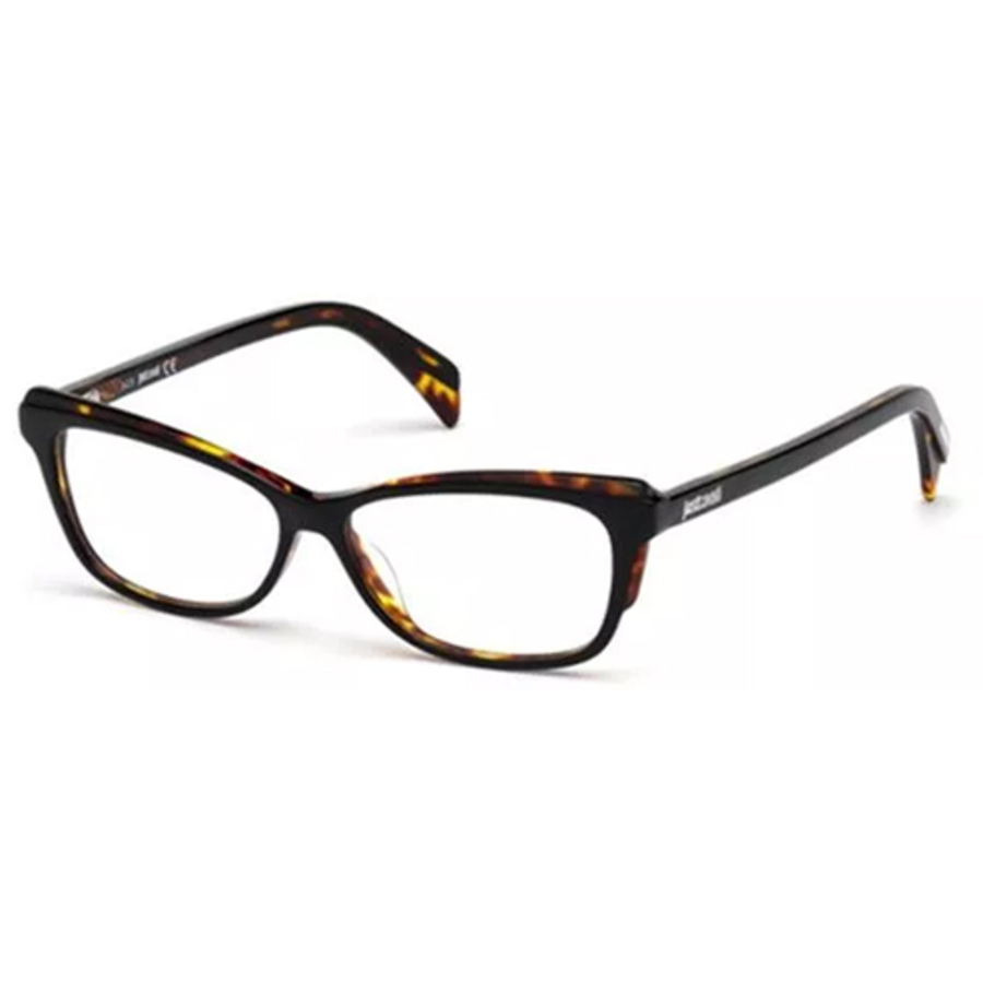 Just Cavalli Ladies Black Square Eyeglass Frames Jc0771 A05 54 In Brown