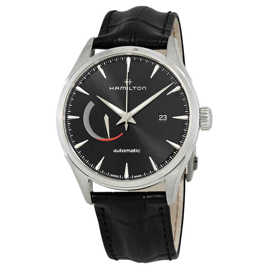 Hamilton Jazzmaster Power Reserve Automatic Mens Watch H32635731 In Black,silver Tone