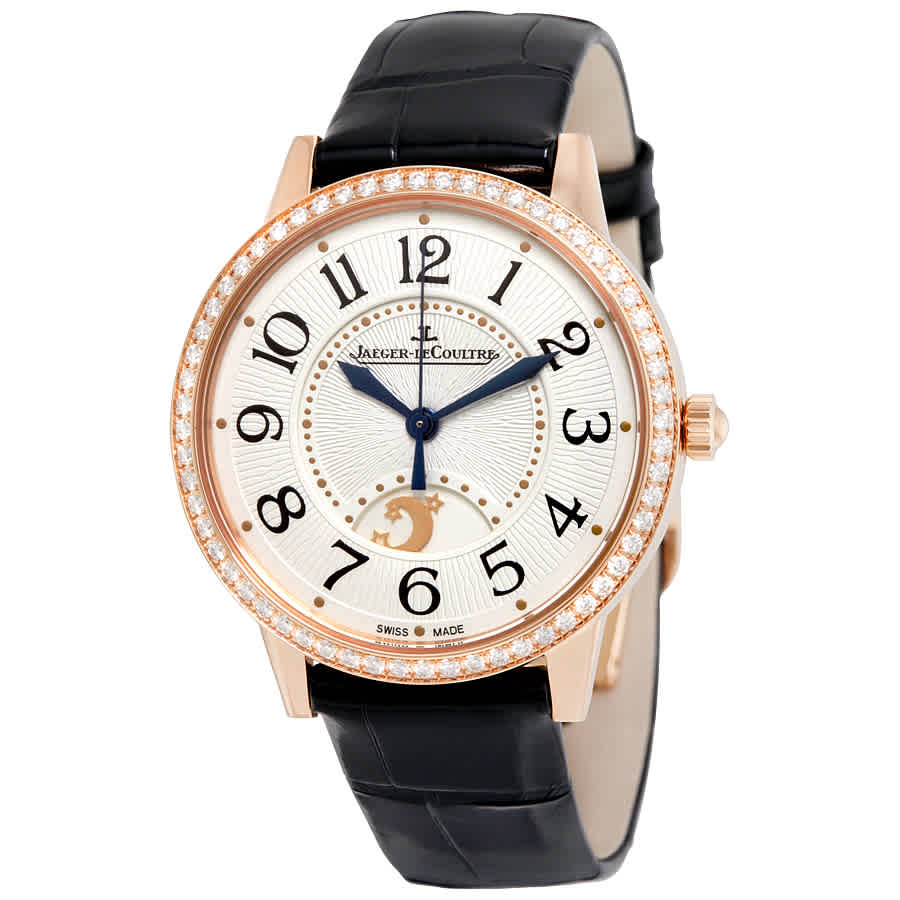 Jaeger-lecoultre Rendez-vous Night Day 18k Rose Gold Automatic Ladies Watch Q3442420